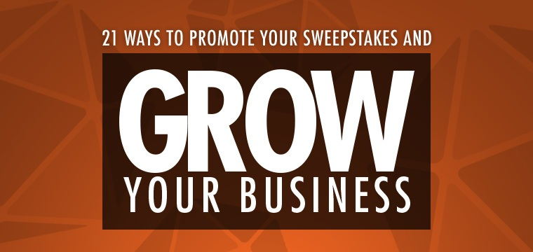 Products direct sweepstakes business