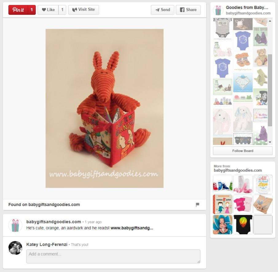 Baby Gifts and Goodies - content within image