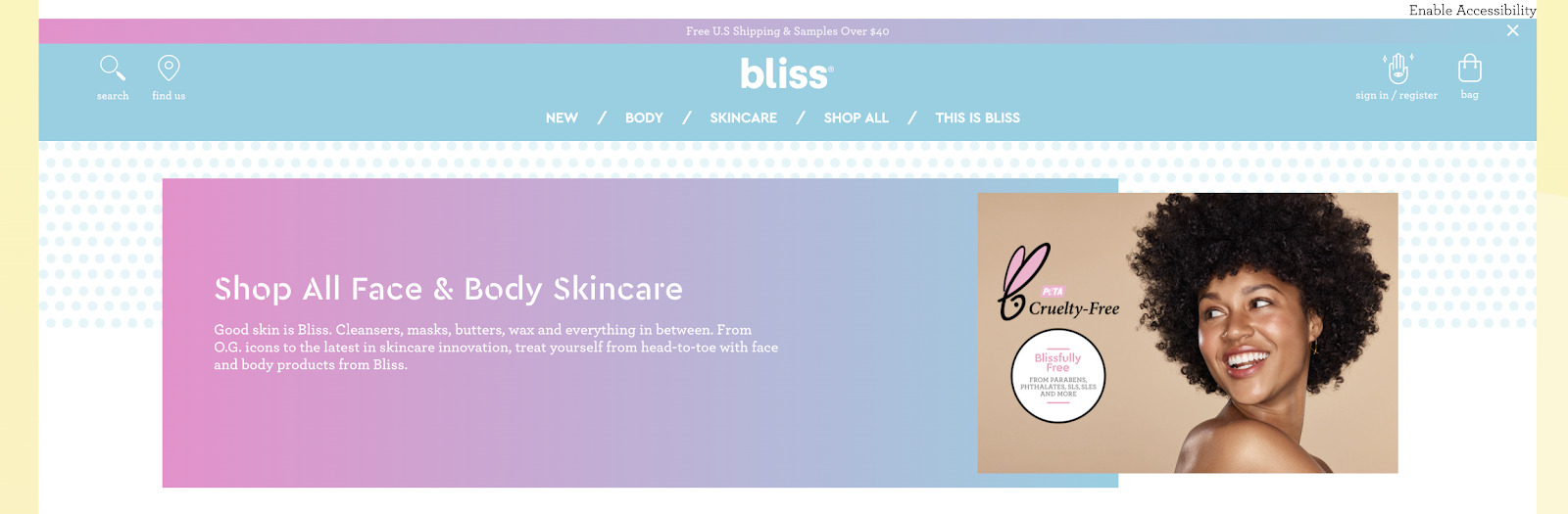Bliss example