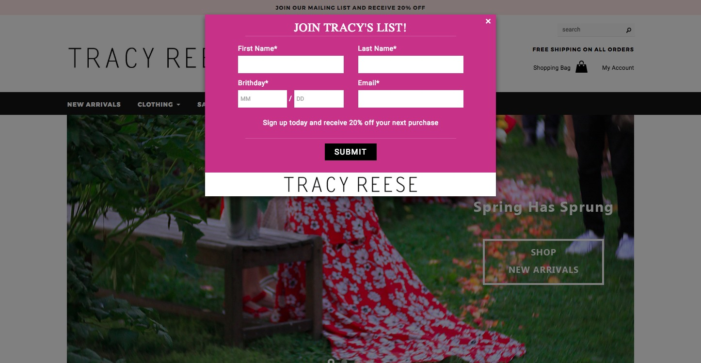 Tracy Reese Shop Now
