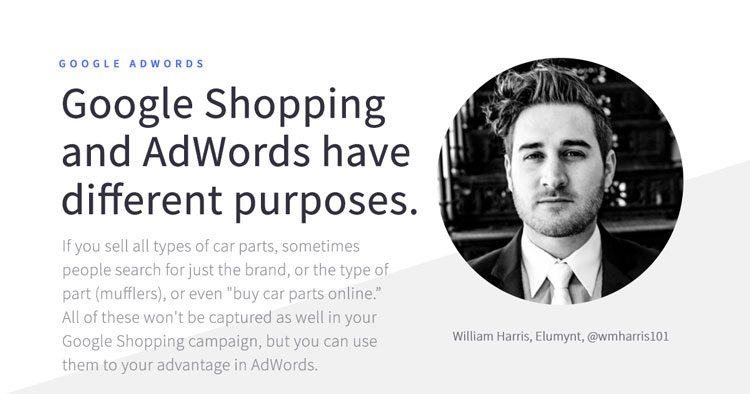 manage ecommerce adwords campaigns