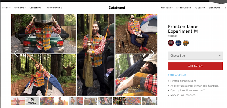 Betabrand Product Image