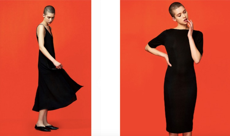 pixelz-product-photography-color-background-zara-black-dress
