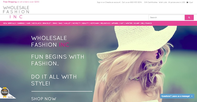 Beautiful Wholesale Fashion Accessories for Women