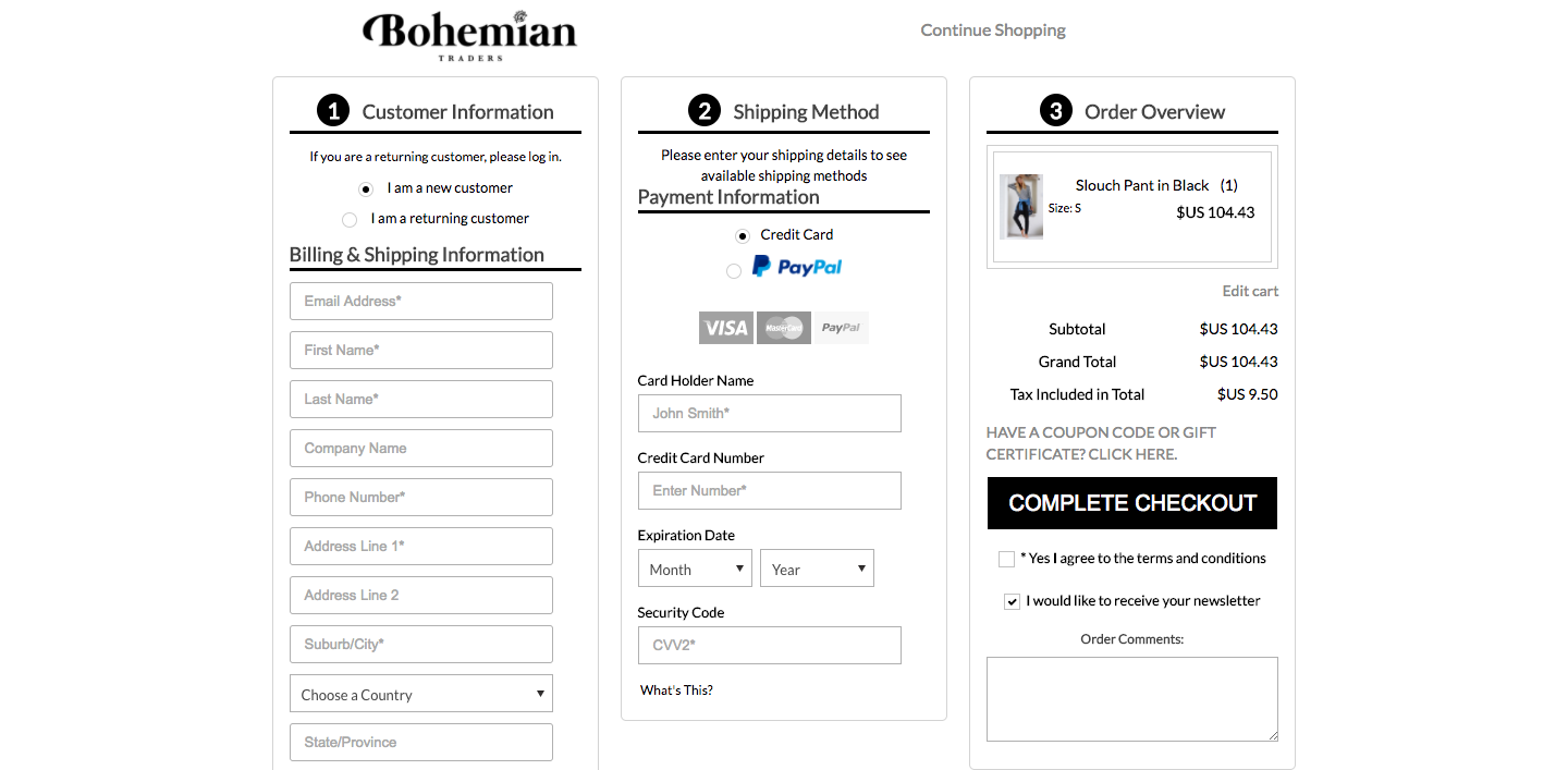 conversion-rate-optimization-one-page-checkout