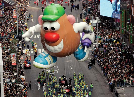 mr potato head holiday marketing
