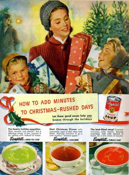 Campbell's soup holiday campaign