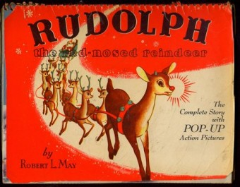 who invented rudolph the red nose reindeer?