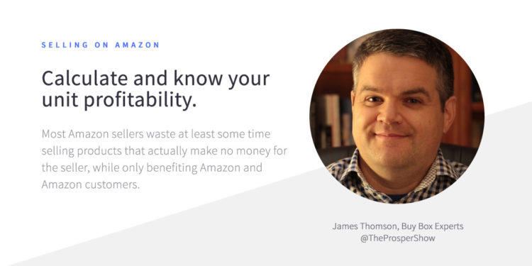 james thomson tips for selling on amazon