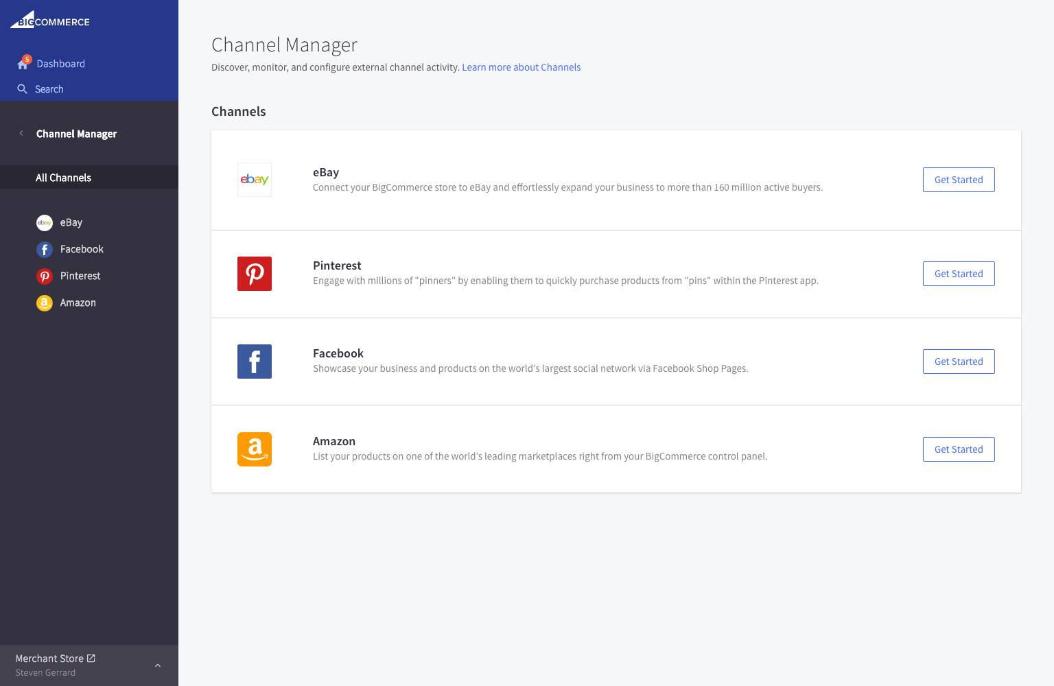 eBay Channel Manager