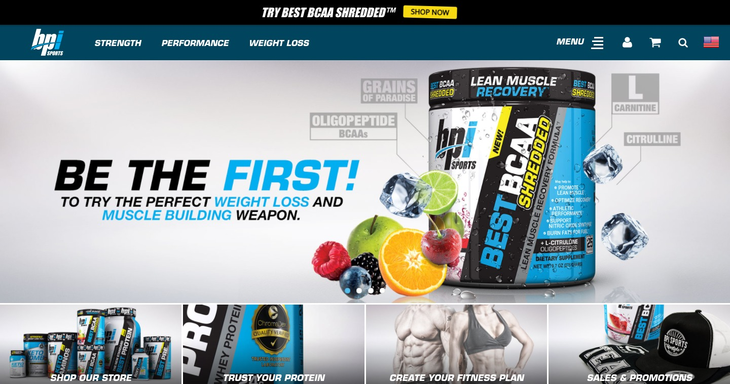 BPI Sports Nutrition Supplements pre workouts protein powders and fat burners