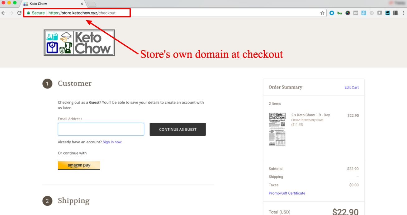 6 ecommerce checkout page optimizations for higher conversion 2018 free ssl at checkout coming soon to all 1betcityfo Gallery