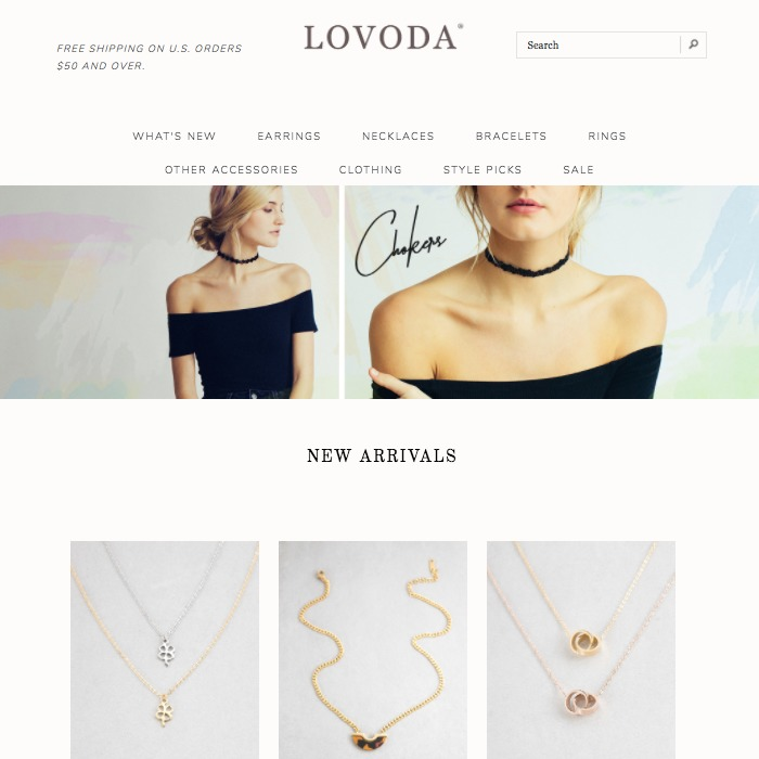13 Jewelry Ecommerce Sites that WOW Their Visitors [Examples]