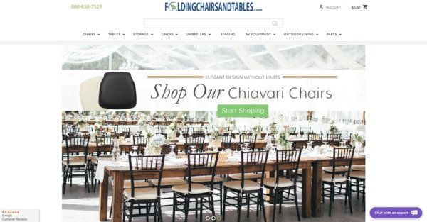 Folding Chairs and Tables