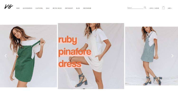 5ec725f85 Verge Girl is an online women's fashion store with a sassy and irreverent  style and attitude. The ecommerce site sells dresses, jeans, jackets, ...