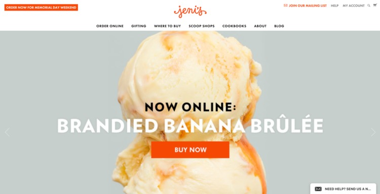 Ecommerce Food and Beverage jenis