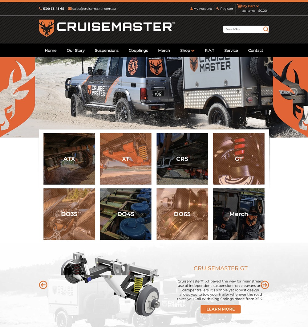 ecommerce design awards cruisemaster