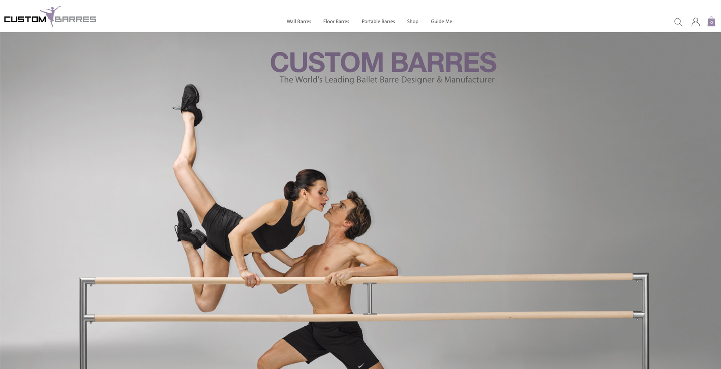 ecommerce design awards custom barres