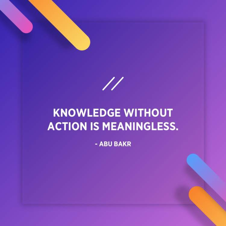 abu bakr knowledge quote