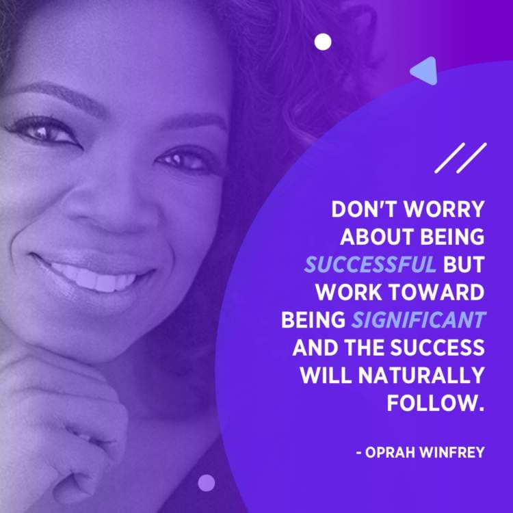 oprah winfrey success