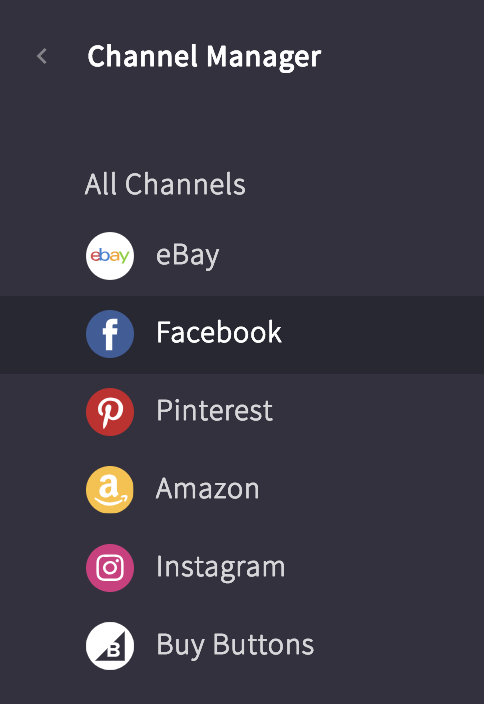 selling on facebook marketplace channel manager