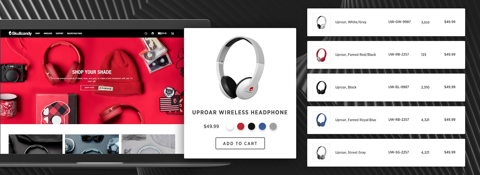 Skullcandy and bigecommerce