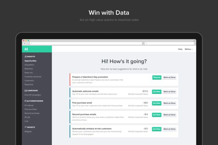 ecommerce ai win with data
