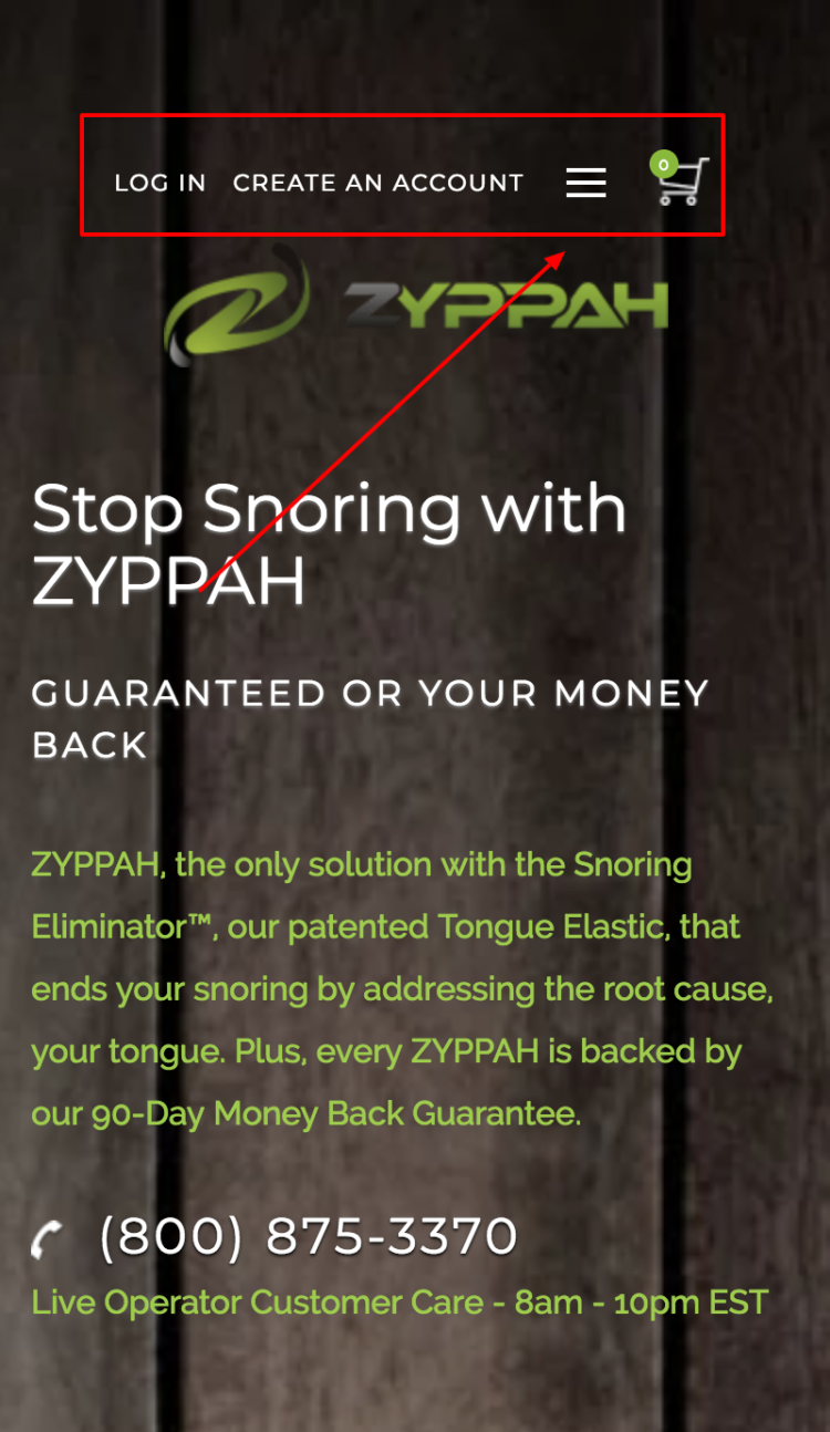 ZYPPAH mobile first design mobile
