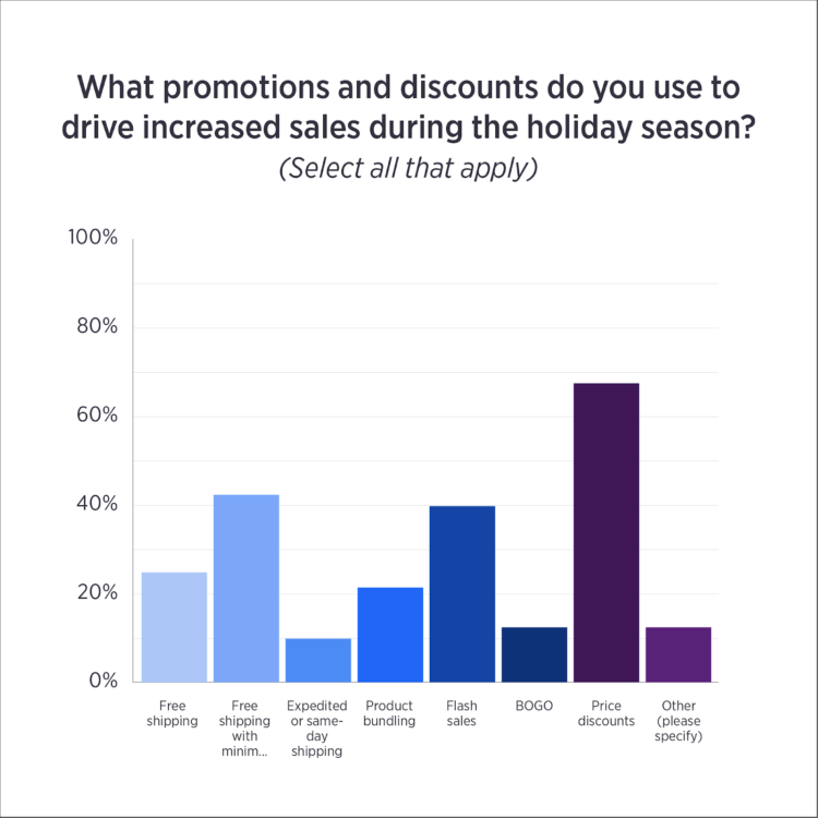holiday ecommerce promotions