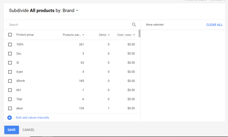 google shopping campaign tips brands
