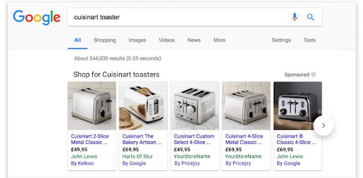google shopping campaign tips comparison shopping