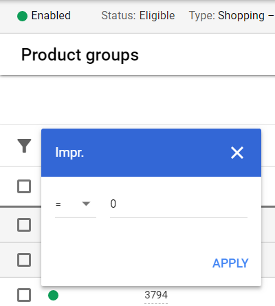 google shopping campaign tips product groups data
