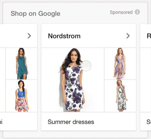 google shopping campaign tips shopping ad new example