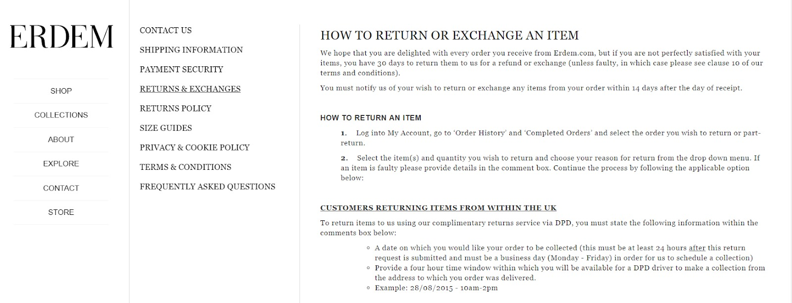 How To Write An Ecommerce Return Policy (Template + Real Examples)