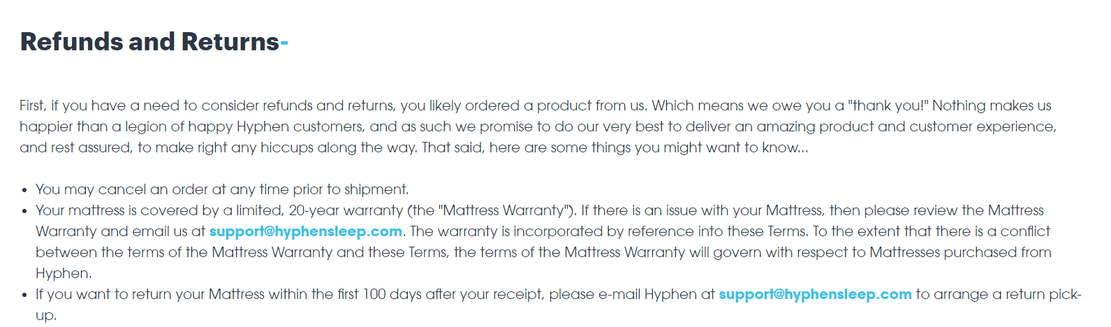 How To Write An Ecommerce Return Policy Real Examples