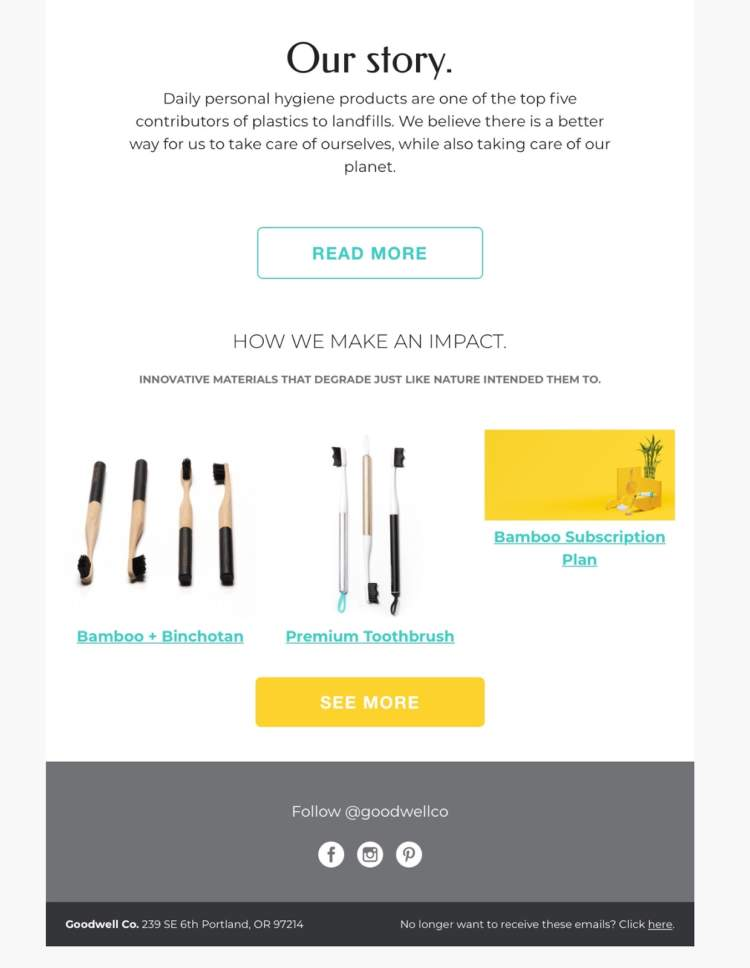 effective email marketing goodwell company