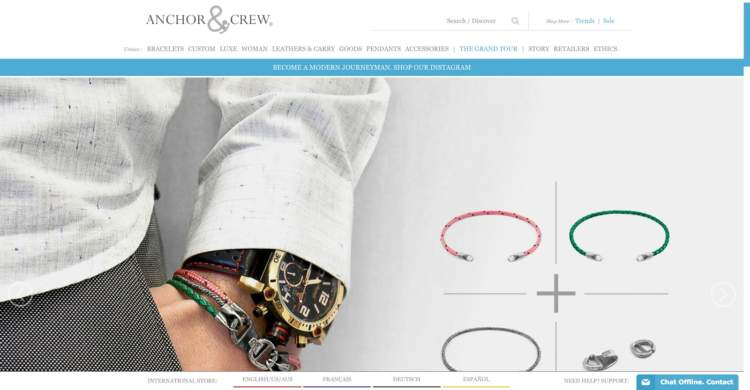 innovative ecommerce brands anchor crew