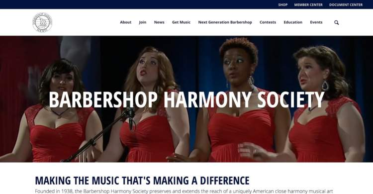 innovative ecommerce brands barbershop harmony society