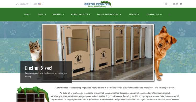 innovative ecommerce brands gator kennels