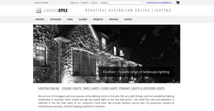 innovative ecommerce brands lighting style