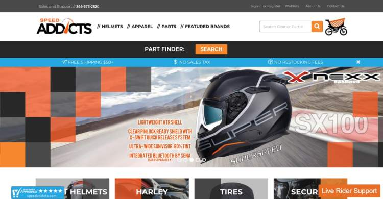 innovative ecommerce brands speed addicts