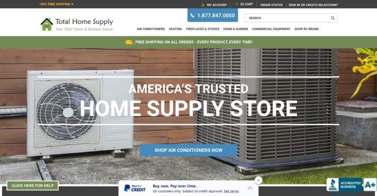 innovative ecommerce brands total home supply