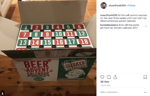 unboxing experience beer cartle