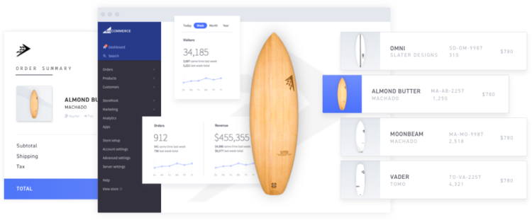 bigcommerce for wordpress ecommerce management firewire surfboards