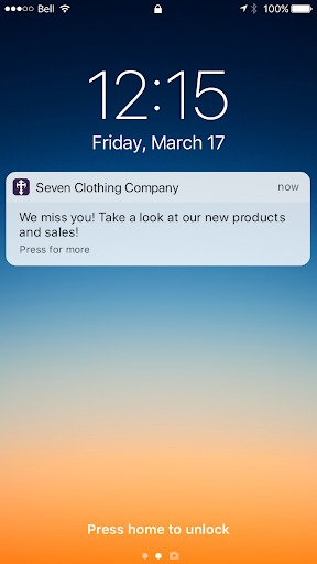 ecommerce apps push notifications