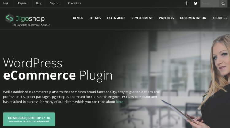 wordpress ecommerce plugins jigoshop