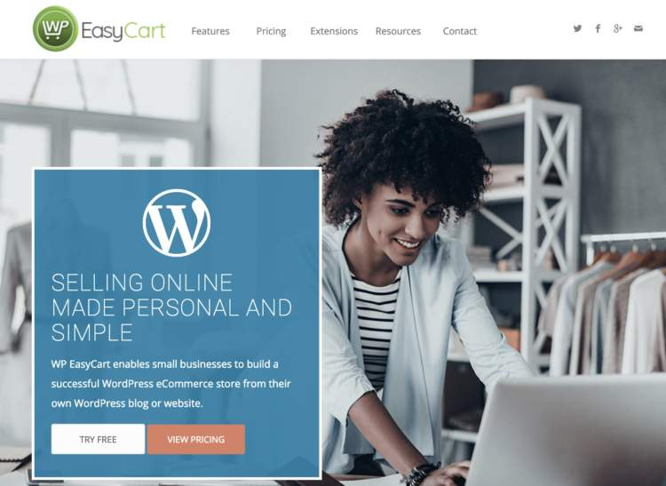 wordpress ecommerce plugins wp easycart