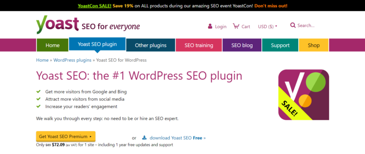 wordpress ecommerce plugins yoast