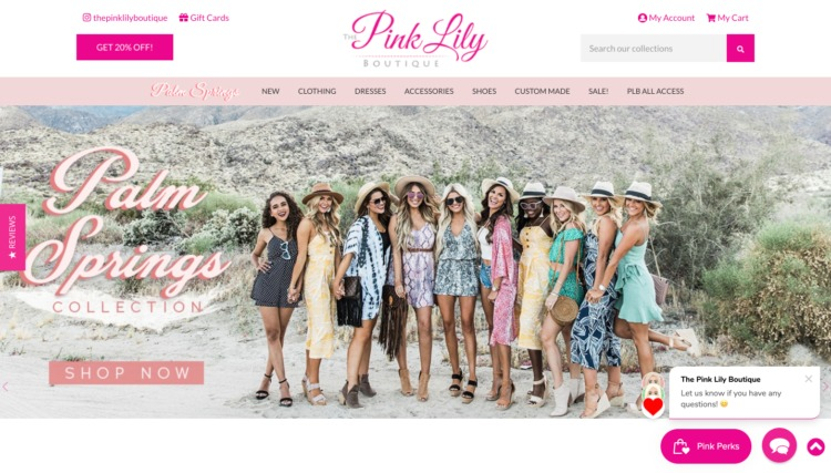 jewelry online pink lily home