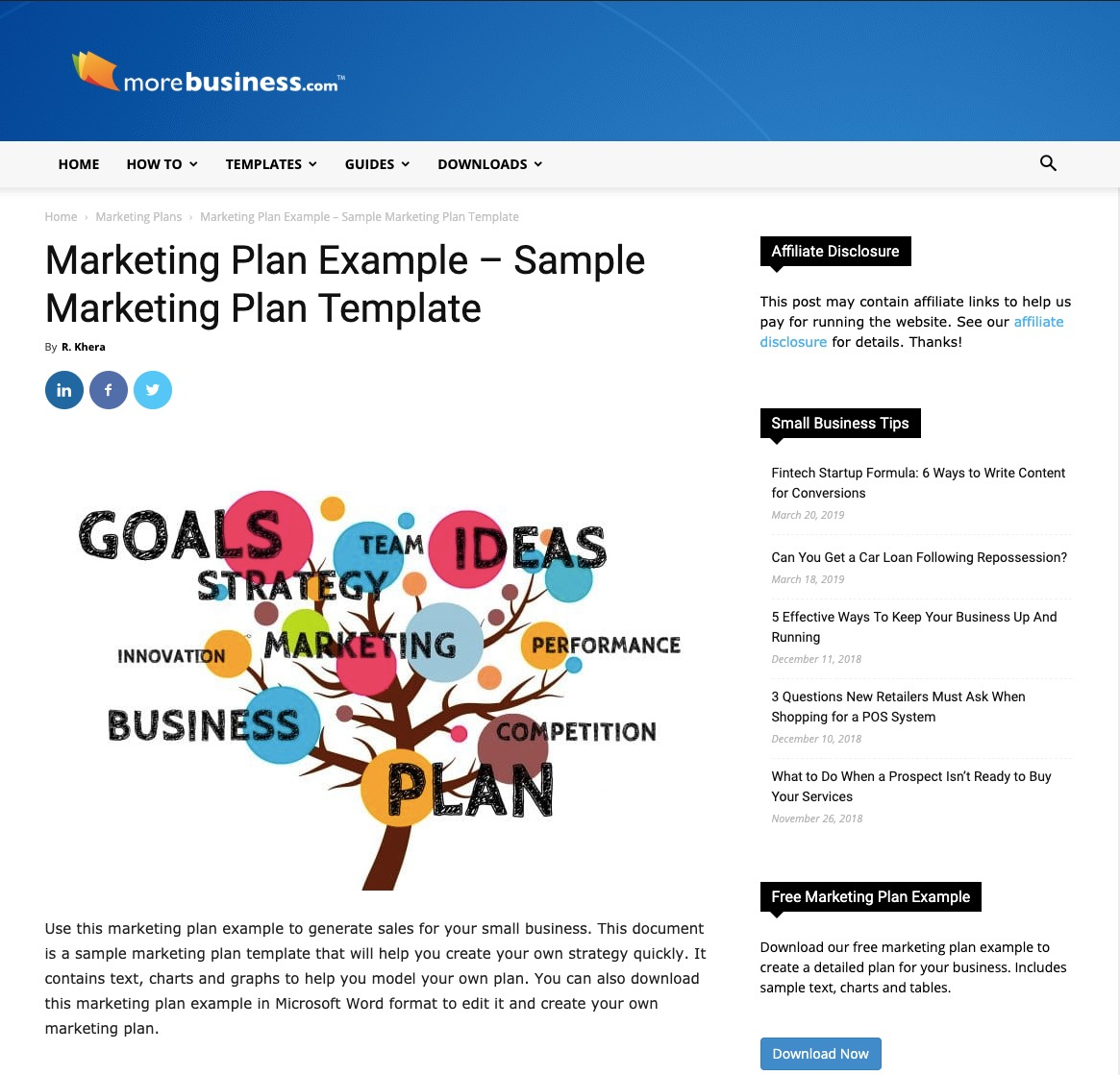 How To Write A Marketing Plan in 2019 (Templates + Examples)